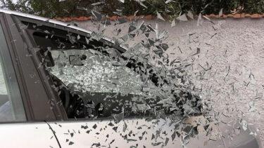 【動画】煽り運転の軽自動車ミラのドライバーがインプレッサのサイドミラーをパンチで破壊・もぎ取り?大阪高槻?